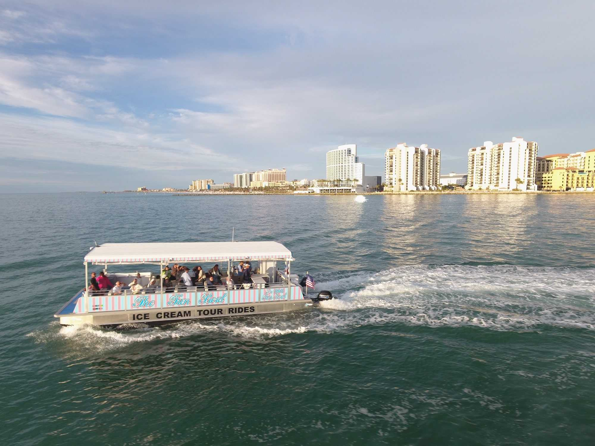 clearwater boat trip